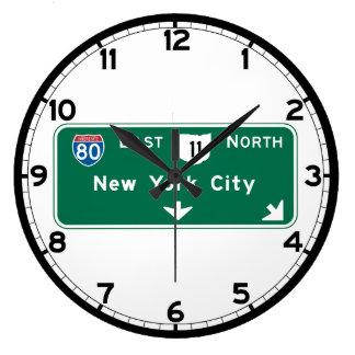 New York, NY Wall Clocks