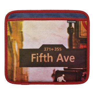 New York NYC city iPad Sleeve