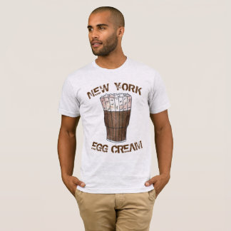 New York NYC Classic Egg Cream Soda Fountain T-Shirt