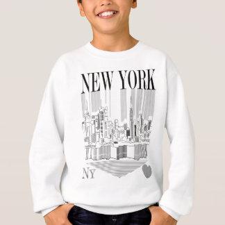 New York pencil Sweatshirt