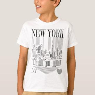 New York pencil T-Shirt