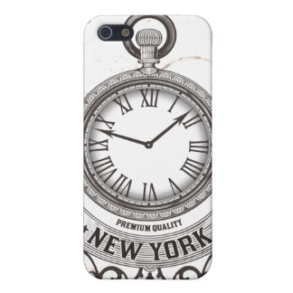 New York Pocket Watch iPhone 5 Covers
