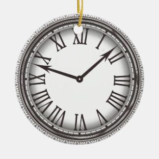 New York Pocket Watch Ornament Round