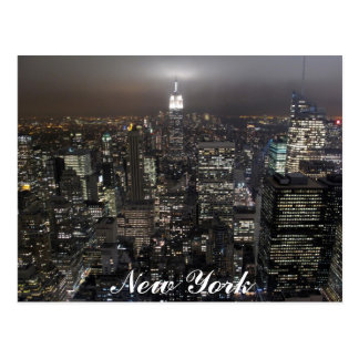 New York Postcard Cityscape New York Souvenir Card