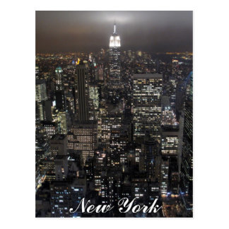 New York Postcard Empire State NYC Souvenir Card