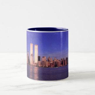 New York, Pre-attacks Two-Tone Coffee Mug