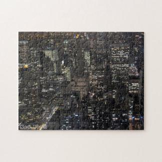 New York  Puzzle Custom NY City Souvenir Puzzle
