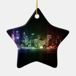 New York Rainbow collection Ceramic Star Ornament