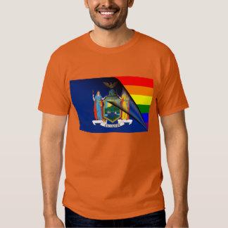 New York Rainbow Flag Shirt