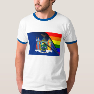 New York Rainbow Flag T-Shirt