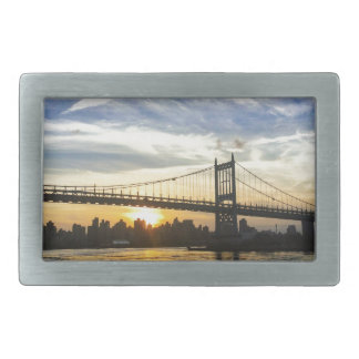 New York Rectangular Belt Buckles