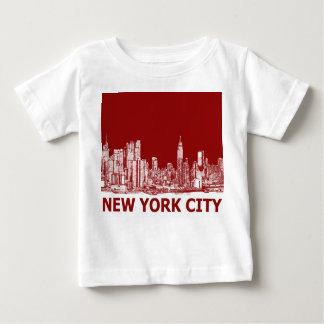 New York red maroon Shirt