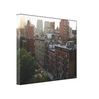 New York Rooftops Canvas Print