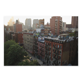 New York Rooftops Photo Print