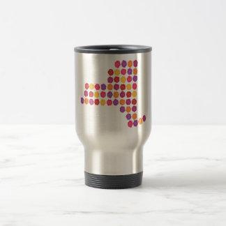 New York Rose Travel Mug
