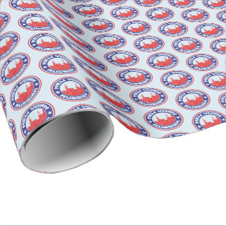 New York Russian American Gift Wrap