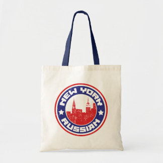 New York Russian American Grocery Bag