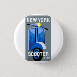 New York Scooter Club Small Pin