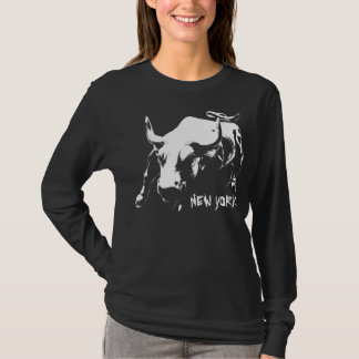 New York Shirt Women's Cool NY Bull Souvenir