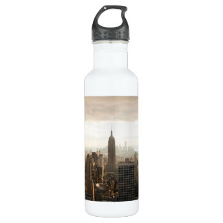 New York skyline 710 Ml Water Bottle