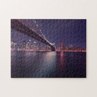 New York Skyline at Night Puzzles