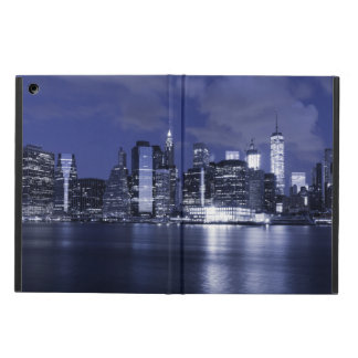 New York Skyline Bathed in Blue Cover For iPad Air