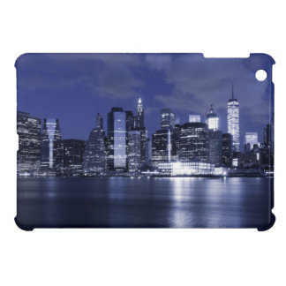 New York Skyline Bathed in Blue iPad Mini Cover