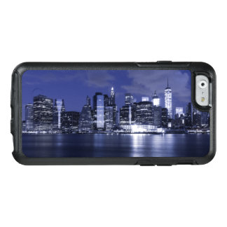 New York Skyline Bathed in Blue OtterBox iPhone 6/6s Case