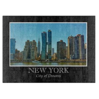 New York Skyline Black White Frame Photo Boards