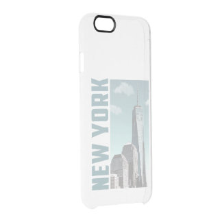 New York Skyline Clear iPhone 6/6S Case