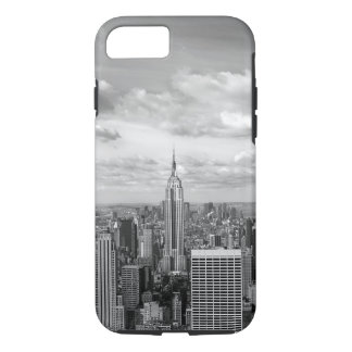 New York skyline in black and white iPhone 7 Case