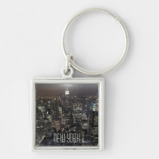 New York Skyline Key Chain New York Souvenirs