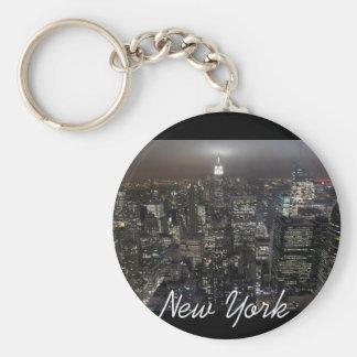 New York Skyline Key Chain New York Souvenirs
