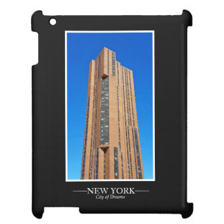 New York Skyline Photograph Frame Personalize iPad Case