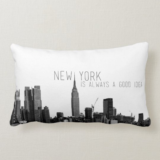New York Skyline Pillow