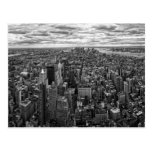 New York Skyline Post Cards