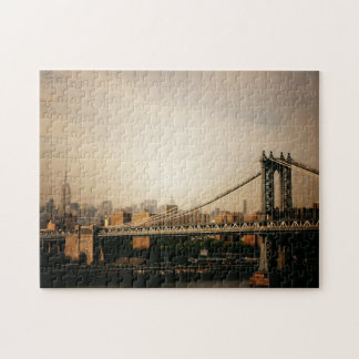 New York Skyline Puzzle -  Manhattan Bridge
