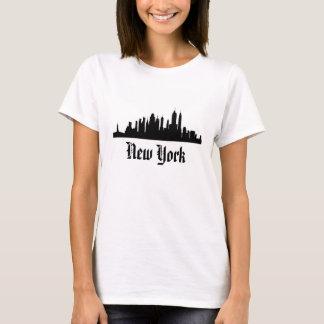 """NEW YORK"" skyline t-shirt"