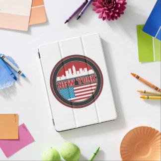 New York Skyline | United States Flag iPad Air Cover