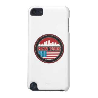 New York Skyline | United States Flag iPod Touch 5G Case