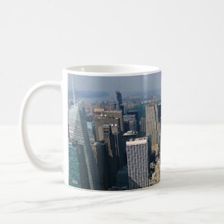 New York Skyline view from Empire State Building Coffee Mug