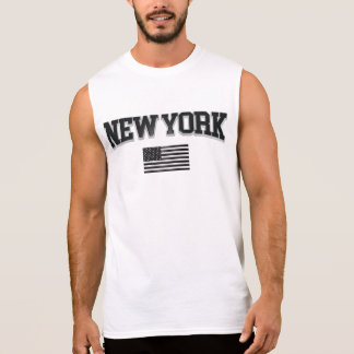 New York Sleeveless Shirt