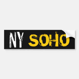 New York SOHO Bumper Sticker