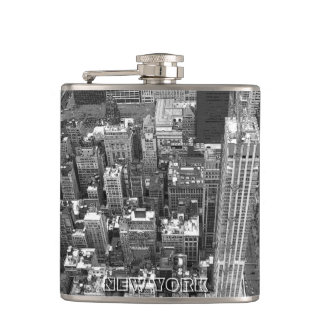 New York Souvenir Flask NYC Cityscape Gifts