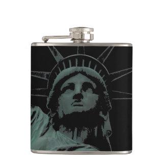 New York Souvenir Flask Statue of Liberty Flask