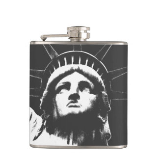 New York Souvenir Flask Statue of Liberty Flask