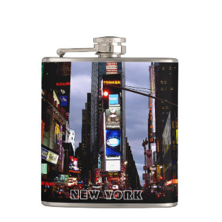 New York Souvenir Flask Times Square Souvenir Flas