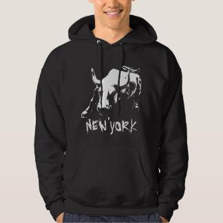 New York Souvenir Hoodie Bull NY Shirt Souvenir