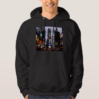 New York Souvenir Hoodie Times Square Hooded Shirt