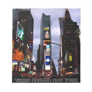 New York Souvenir Notepad NY Time Square Notepad